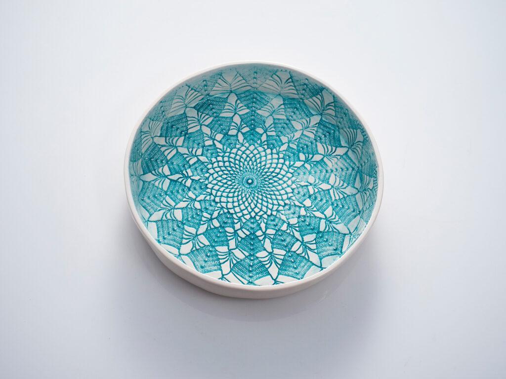 medium round plate 18cm x 3cm