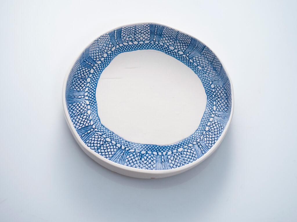 large round plate 24cm x 3cm